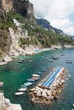 Tonnarella Beach, Amalfi Coast, Italy Stock Image