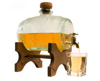 Tonne Alkohol Lizenzfreie Stockfotos