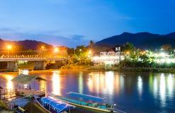 Tonne Baan Tha in Mae Ai Chiang Mai-Provinz, Thailand Stockfotos