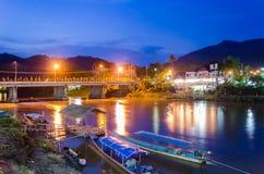 Tonne Baan Tha in Mae Ai Chiang Mai-Provinz, Thailand Stockfotografie