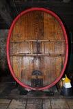 Tonne de vin Photo libre de droits