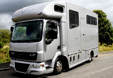 7.5 tonne Helios horsebox Royalty Free Stock Image