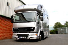 7.5 tonne Helios horsebox Stock Photos