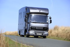 7.5 tonne Helios horsebox Royalty Free Stock Photography