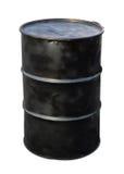 Tonneau à huile images libres de droits