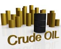 Tonneau à huile illustration libre de droits