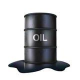 Tonneau à huile Photographie stock libre de droits