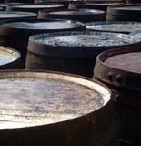 tonneaux de barils Photo stock