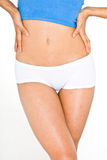 Tonned Stomach and thighs 2 Stock Photos