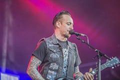 Tonnellate di roccia 2014, Volbeat Fotografie Stock Libere da Diritti