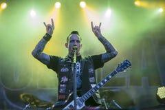 Tonnellate di roccia 2014, Volbeat Fotografia Stock