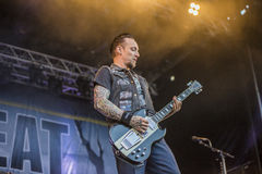 Tonnellate di roccia 2014, Volbeat Fotografie Stock