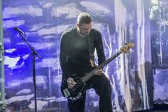 Tonnellate di roccia 2014, Volbeat Fotografia Stock Libera da Diritti