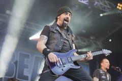 Tonnellate di roccia 2014, Volbeat Immagini Stock Libere da Diritti