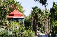 tonnelle Nikita Botanical Garden image libre de droits