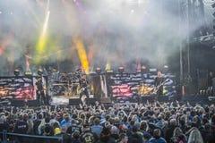 Tonnen von Felsen 2014, Volbeat Stockbild