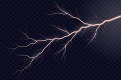 Tonnerre électrique de foudre illustration stock