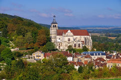 Tonnerre church Saint Pierre in Burgundy Stock Photography