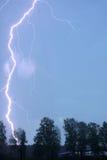 tonnerre de tempête Image stock