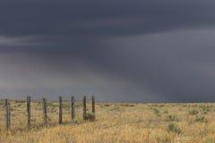 Tonnerre sur les plaines Photo libre de droits