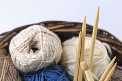 Tonnes de laine Images libres de droits