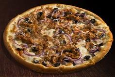 tonno пиццы Стоковые Фотографии RF