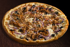 Tonno de pizza Photos libres de droits