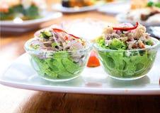Tonno dell'insalata Fotografie Stock