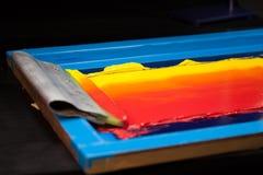Tono caliente del color imagenes de archivo