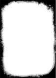Tono de la frontera dos de Grunge stock de ilustración