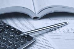 Tono di Accounting.dual Immagini Stock