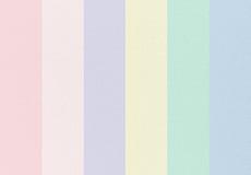 Tono en colores pastel de la colección de la lona con los modelos Textura de la tela fotos de archivo