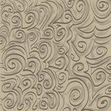 Tono en el tono Swirlies Foto de archivo