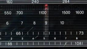 Tono en estaciones de radio almacen de video