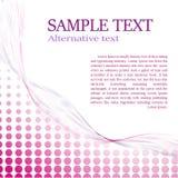 Tono medio abstracto de la decoración de la página con el texto de la muestra Foto de archivo libre de regalías