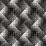 Tono medio abstracto del blanco del negro del fondo stock de ilustración