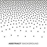 Tono medio abstracto Dots Background de la pendiente Foto de archivo libre de regalías