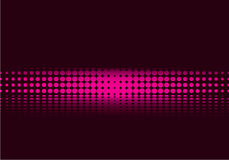 Tono medio púrpura stock de ilustración