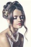 Tono nupcial de la mujer de la moda Imagen de archivo