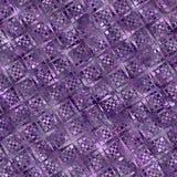 Tono púrpura del fondo mágico/diseño geométrico Fotografía de archivo