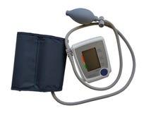 Tonometer automático para la presión arterial de medición fotos de archivo