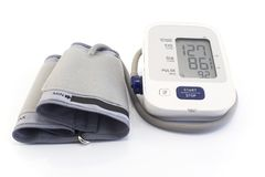 Tonometer för blodtryck arkivbilder