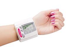 Tonometer Measures The Pressure Stock Photography