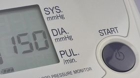 Tonometer moderno da pressão video estoque