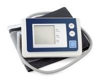 Tonometer moderno per la misura di pressione sanguigna Fotografia Stock