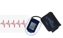 Tonometer, un dispositif médical pour mesurer la pression Images stock