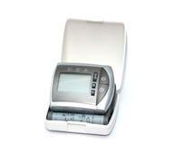 Tonometer voor het meten van bloeddruk op een witte achtergrond Royalty-vrije Stock Foto