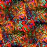 Tonos inconsútiles rojo de la textura de la acuarela, verde ilustración del vector