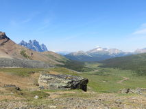 Tonquin Hill and The Ramparts. Royalty Free Stock Photos