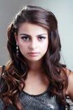 Tonårig modellflicka Royaltyfri Bild